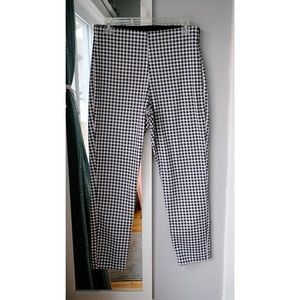 Old navy skinny plaid ankle pant - high waist